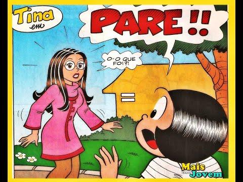 Tina em PARE!! | Gibis Turma da Mônica