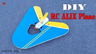 How to make RC ALIX Plane at home | DIY Plane 100% fly