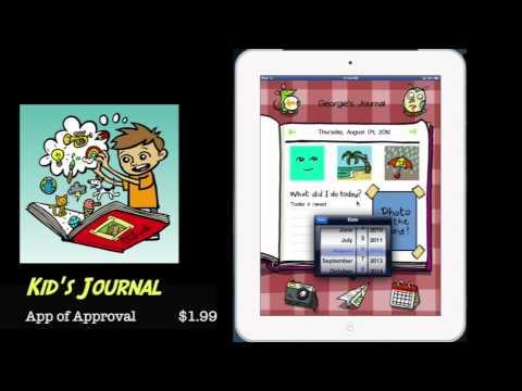 Kid's Journal – iPad App Review (Education)