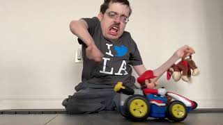 DIDDY KONG RACING LIVE ACTION 🏎️ - Ricky Berwick