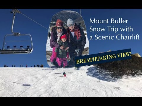 KidsVLOG-Mt Buller Snow Trip with a Scenic Chairlift (Melbourne, Australia)