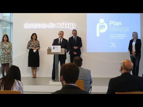 Presentación del Plan para la Recuperación Económica y del Empleo de la Provincia de Málaga (Plan Málaga)