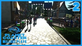 Millbee Tries His Best at Planet Coaster - Episode 2 [Feeling Fantasy]