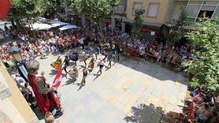 preview picture of video 'Crònica Dia Santa Anna Festa Major Blanes 2014'