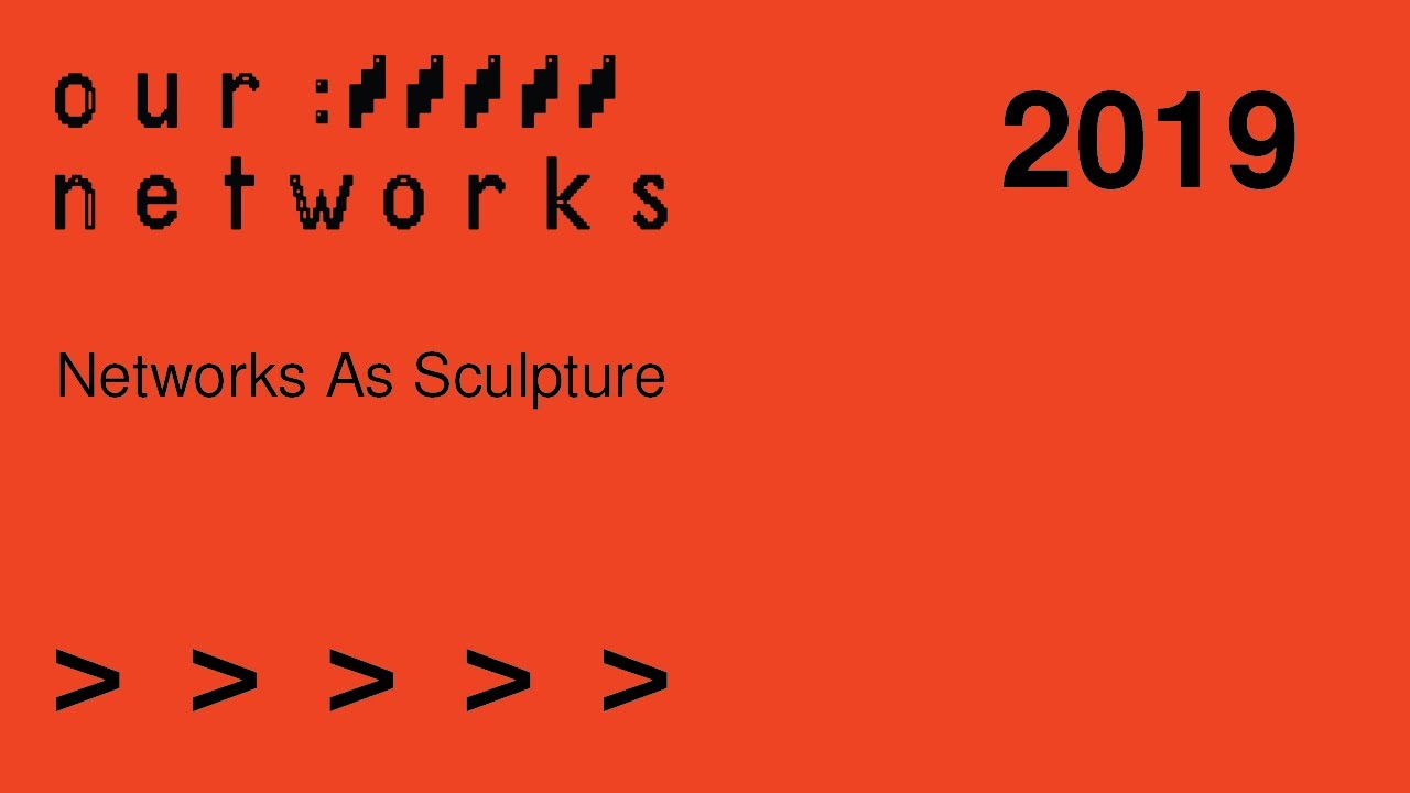 Video thumbnail for Networks as sculpture