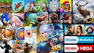Top 25 Juegos Hackeados Para Android Super Juegos Hack Offline