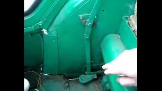 Блокировка заднего дефФеренциала трактора Т 40 АМ