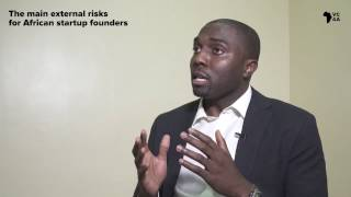 The main external risks for African startup founders