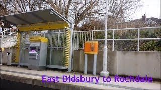 preview picture of video 'Manchester Metrolink - East Didsbury to Rochdale Railway Station'