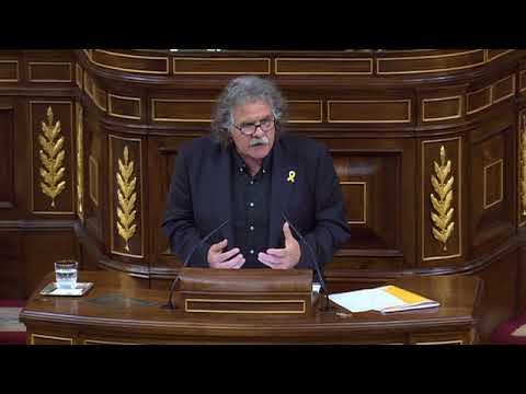 Discurs de Tardà durant la moció de censura