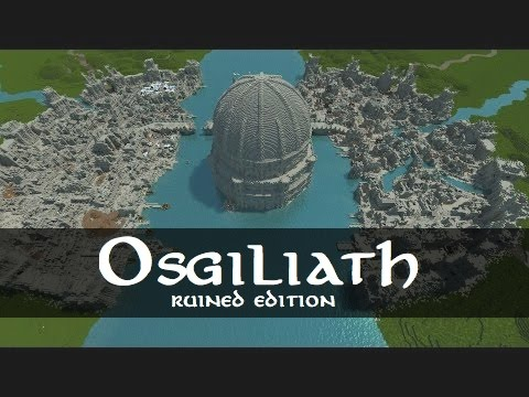 Osgiliath In Ruin Lord Of The Ring Build Minecraft Project