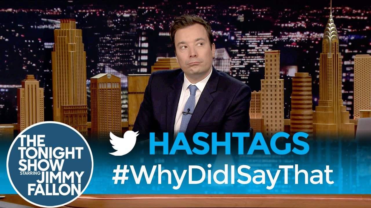 Hashtags: #WhyDidISayThat thumbnail