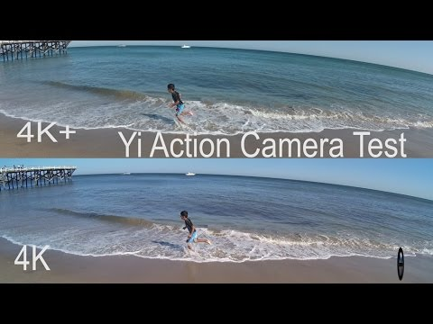 4K+ 60fps YI 4K Action Camera video comparison to YI 4K Camera