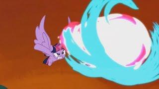 The Fight Between Twilight And Tirek - My Little Pony: Friendship Is Magic - Season 4