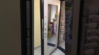 Видео отзыв о компании ДВЕРИС, входная дверь Троя 10 см. MAXI зеркало в цвете белый ясен