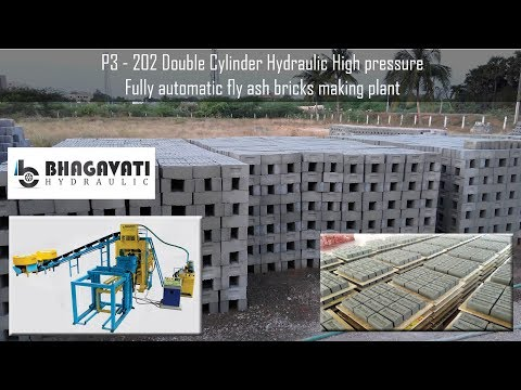 High Pressure Concrete Brick Making Plant