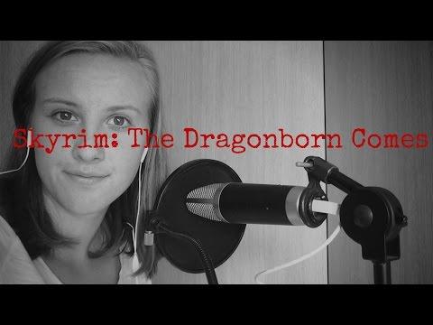 Skyrim: The Dragonborn Comes (Papaja cover)