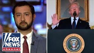 Syrian activist praises Trump, US military