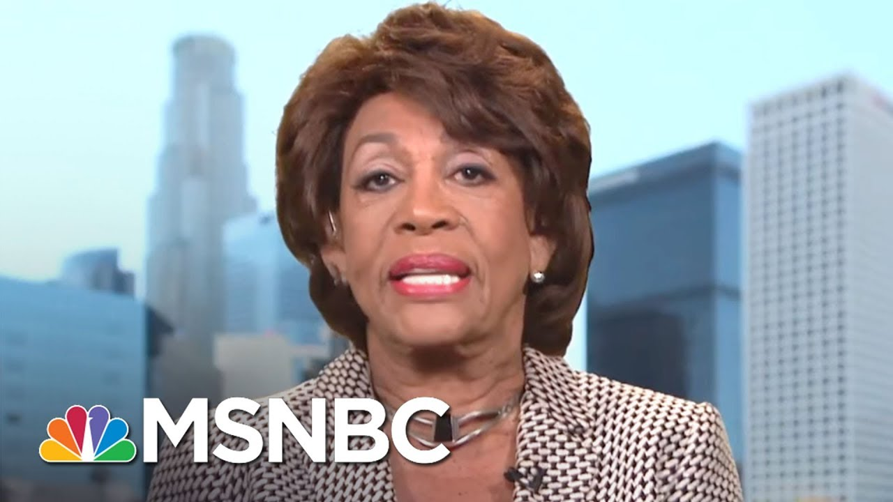 Rep. Maxine Waters: We're Going To Fight This President And His Racism | AM Joy | MSNBC thumbnail