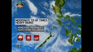 24 Oras: Weather update  as of 5:40 p.m. (July 29, 2018)