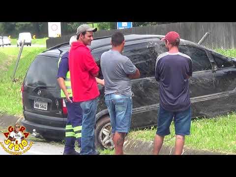 Acidente em frente da Favela do 72