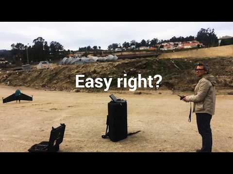 Drone surveying with Marlyn - Atmos UAV