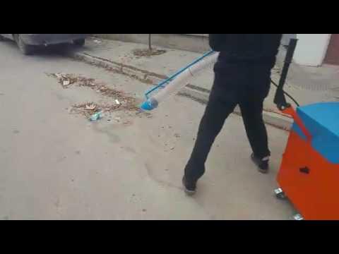İzmarit, Yaprak ve Çöp Toplama Makinesi, 120 lt Çöp Toplama Makinesi