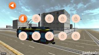 euro tram driver simulator 3D  game rewiew android//