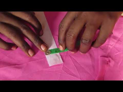 How to sew African native men's wear (buba and sokoto) part 2