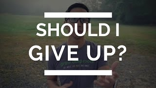 What To Do When You Feel Like Giving Up   Christian Depression