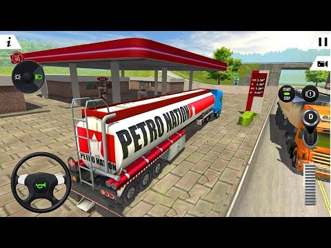 Oil Tanker Transporter Truck Simulator (by Racing Games) Android Gameplay [HD]