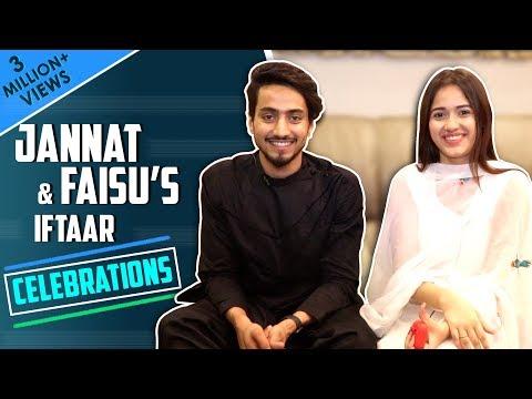 Jannat Zubair Rahmani's Iftaar Treat For Faisal Shaikh Aka Faisu | Iftaar Celebrations