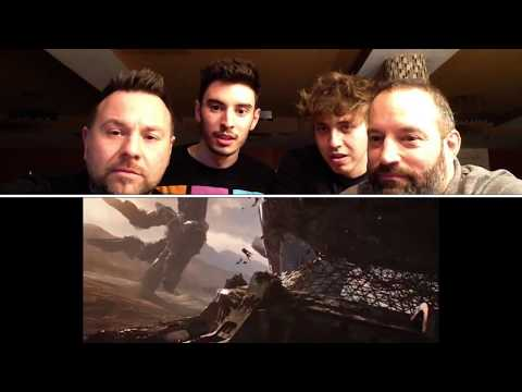 MARVEL STUDIOS' - AVENGERS INFINITY WAR.....TRAILER#2....OFFICIAL TRAILER REACTION VIDEO (CRAZY)!!!! (видео)