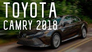 Смотреть онлайн Обзор на автомобиль Toyota Camry, 2018 год