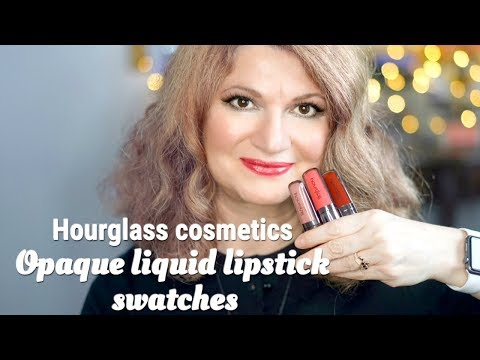 LET'S SWATCH | Hourglass Opaque Rouge Liquid Lipstick