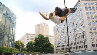 Katie McDonnell - Compilation 2013 (Parkour & Freerunning)