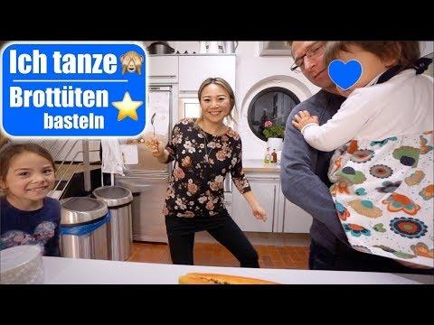 Ich tanze zum Papaya Song 😂 Brottütensterne basteln! Küche neu organisieren Vlogmas   Mamiseelen