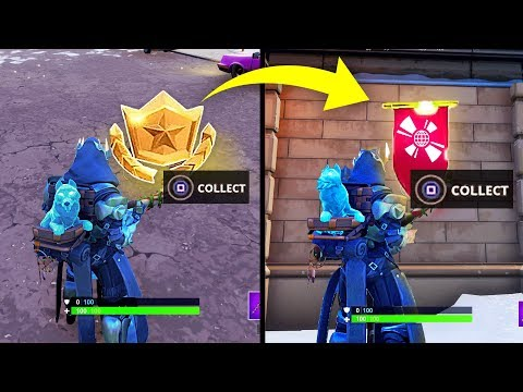 Fortnite Secret Battlestar Season 7 Week 4 Location Skap Video
