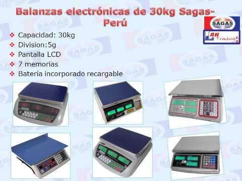 Balanzas electrónicas y Equipos aquí: http://www.sagas.com.pe/novedades/productos/