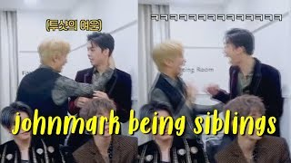 johnny and mark being biological siblings