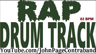 Rap Hip Hop Drum Track 808 Bass Beat