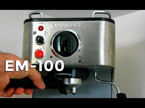 , Cuisinart EM-100 1.66 Quart Stainless Steel Espresso Maker review