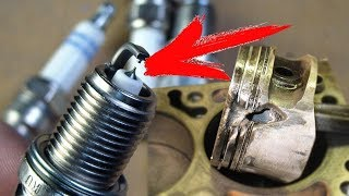 КАК  эти свечи зажигания могут УБИТЬ ваш двигатель?