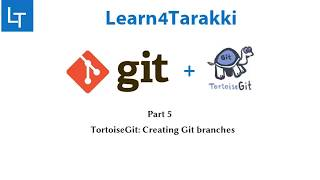 TortoiseGit Tutorial 5: Git branching (How to create branch in GitHub, fetch it and push changes)