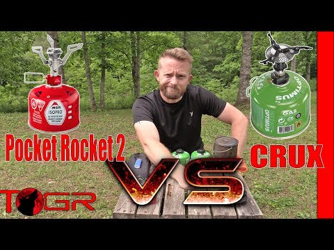 Quickest Boil? MSR Pocket Rocket 2 Vs Optimus Crux Stoves - Versus Ep3