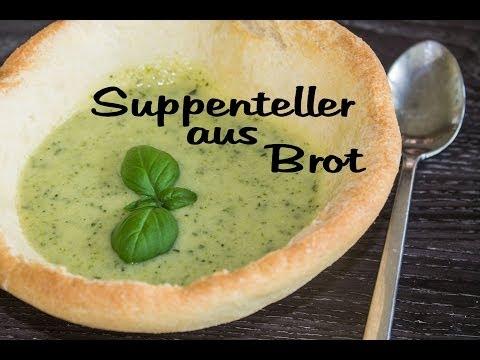 Suppenteller aus Brotteig  [individuell, kommt gut an!]