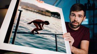 How I PRINT AND FRAME my photos