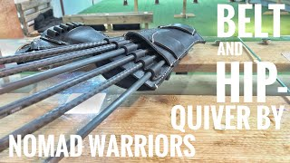 Hip- and Belt Quiver by Nomad Warriors at Malta Archery