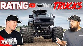 RATING YouTubers TRUCKS!!