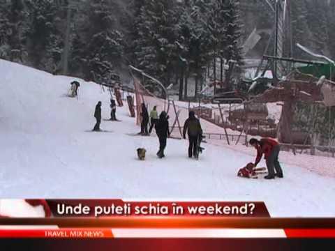 Unde puteti schia in weekend?